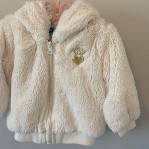 Luxuriously Soft / Faux Fur / Zip Up / Sweatshirt
